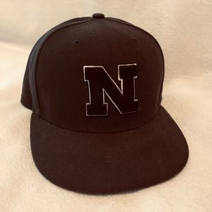 Nebraska Ball Cap, Fitted, Size 7